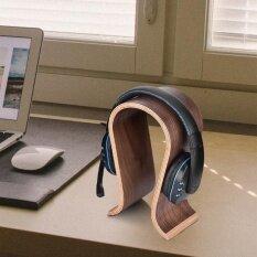 ราคา Sweatbuy U Shape Wood Headphones Stand Holder Hanger Wooden Headset Desk Display Shelf Rack Intl เป็นต้นฉบับ