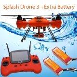 ซื้อ Swellpro Splash Drone 3 รุ่น Auto โดนถ่ายภาพ 4K กันน้ำ ลงทะเลได้ แบ๊ตเสริม ใหม่