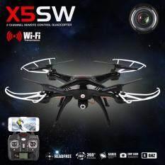 ราคา Syma Fpv Wifi Drone Quadcopter รุ่น X5Sw โดรนติดกล้อง ส่งภาพเข้ามือถือ บันทึกภาพได้ เป็นต้นฉบับ