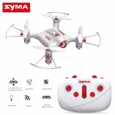 Syma โดรนบังคับ ขนาดจิ่ว Syma X20 Pocket Drone 2.4ghz Remote Control Mini Rc Quadcopter With Altitude Hold And One Key Take-Off / Landing By Syma Bangkok.