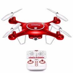 ราคา Syma โดรนติดกล้องถ่ายวีดีโอ ภาพนิ่ง เชื่อมต่อเข้าสมาร์ทโฟนผ่าน Wifi Syma X5 Uw Wifi Fpv 720P Hd Camera Quadcopter Drone Red เป็นต้นฉบับ