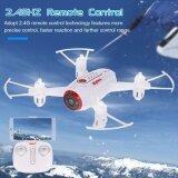 โปรโมชั่น Syma X22W 2 4Ghz 4Ch Rc Drone Fpv Real Time Wifi Camera Rc Quadcopter Gyro สีขาว