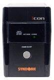 ราคา Syndome Ups รุ่น Icon 800 800Va 320 Watt Black Syndome เป็นต้นฉบับ
