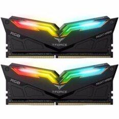 ราคา T Force Night Hawk Rgb Ddr4 16G Kit 2X8 3000 Gaming Black เป็นต้นฉบับ