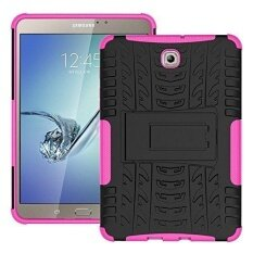 Tab S2 8.0 T715 Hybrid Armor Design with Stand Feature Detachable Dual Layer Protective Shell Hard Tablet Back Cover Case for Samsung Galaxy Tab S2 8.0inches SM-T710 / T715 - intl