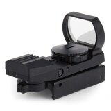 โปรโมชั่น Tactical Holographic Reflex Red Green Dot Sight Scope Optics 20Mm 11 X 22 X 33 Intl จีน