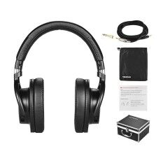 ความคิดเห็น Takstar Pro 82 Professional Studio Dynamic Monitor Headphone Headset Over Ear For Recording Monitoring Music Appreciation Game Playing With Aluminum Alloy Case Intl