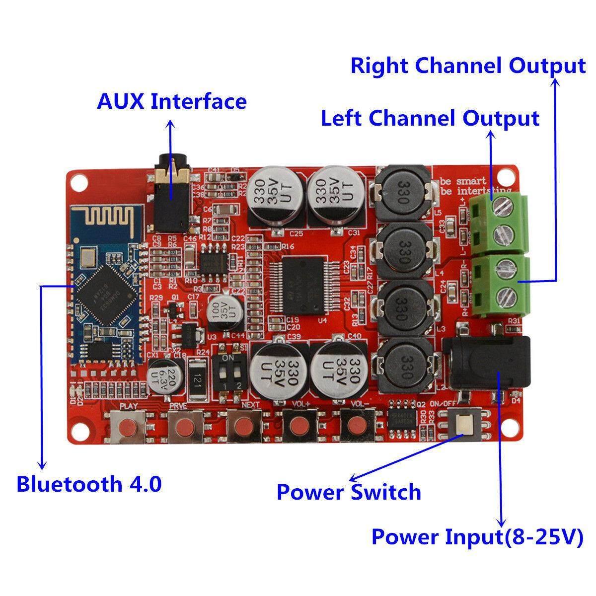 ใช้แล้วดีจริง ๆ ค่ะ เครื่องเสียงและโฮมเธียร์เตอร์ PINMAY TDA7492P 50W*2 Wireless Bluetooth 4.0 Audio Receiver Digital Amplifier Board AUX. ยอดขายเยอะมากๆ