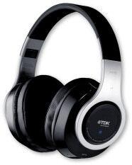 ราคา Tdk Wr780 หูฟัง Bluetooth Nfc Headphone แบบครอบหูไร้สาย พร้อมไมค์สนทนา Black Silver ใหม่ ถูก