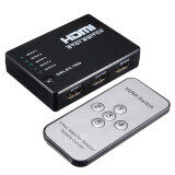 ขาย Teamwin 5 Port 1080P Video Hdmi Switch Box Switcher Splitter For Hdtv Ps3 Dvd Ir Remote New Intl ผู้ค้าส่ง