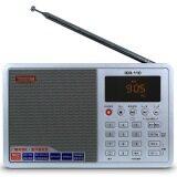 Tecsun Icr 110 วิทยุการ์ด Fm Am Tf Mp3 วิทยุเทปเครื่องเล่นดิจิตอลแอลซีดี ขาว จีน