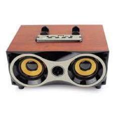 ซื้อ Telecorsa Wireless Speaker 6Series ลำโพงบลูทูธ ลายไม้ รุ่น Woodenspeaker18C Jmax ออนไลน์