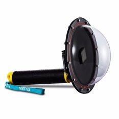 """TELESIN 6"""" Underwater T05 Dome Port Diving Lens Photography Dome Port for the Gopro Hero 5 Black (T05 Dome Port,Yellow )"""