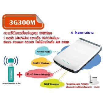 Tenda 3G300M 300Mbps Portable Wireless N 3G Router - White