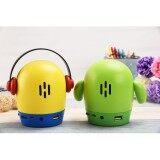 ราคา Tesia ลำโพง บลูทูธ Qute Wireless Speaker นารัก Bluetooth Speaker เป็นต้นฉบับ