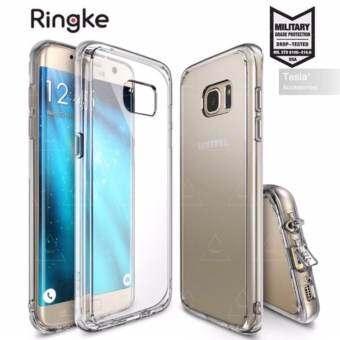 tesia Ringke Fusion ขอบนิ่มหลังแข็ง for Samsung Galaxy S7 edge Case Military Grade Drop Protection C-