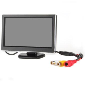 TFT-LCD Digital Car Rear View Monitor LCD Display 5 Inch for VCD / DVD / GPS / Camera