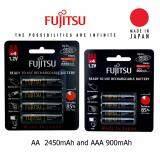 ขาย ถ่านชาร์จ Fujitsu ชุด High Capacity Value Set Aa 2450Mah Aaa 900Mah ถูก ใน ไทย