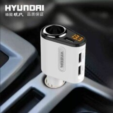 โปรโมชั่น The Cigarette Lighter 5V 3 1A 3 Ports 12V 24V Car Cigarette Lighter Socketadapter Charge Intl