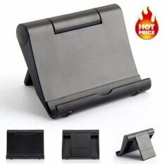 The Honest Store ที่วางโทรศัพท์มือถือ แท็บเล็ตบนโต๊ะแบบปรับพับได้ สำหรับiphone Ipad - สีดำ.