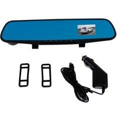 The Matrix กล้องติดรถยนต์ Vehicle Blackbox DVR  Full HD  ทรงกระจกมองหลัง (Black)