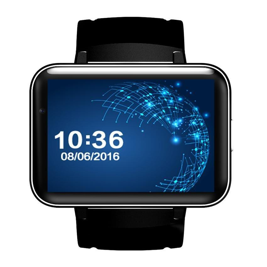 The New DM98 smart watch android 5.1 system GPS WIFI high quality smart phone watch (black) - intl