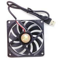 USB Cooler Cooling Fan ขนาด 80x80mm 11 ใบพัด