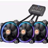ราคา Thermaltake Riing 12 Led Rgb 256 Colors 3 Fan Pack พร้อมตัวปรับ ใหม่