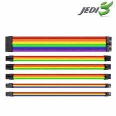 Thermaltake TtMod Sleeve Cable – Rainbow(Multicolor)