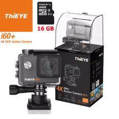 ThiEYE i60+ 4K 12Mp เมนูไทย+Kingston16