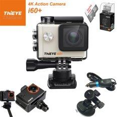 ThiEYE i60+ 4K 12Mpเมนูไทย+Sandisk32+Car Set+Frame Mount
