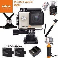ThiEYE i60+ 4K 12Mpเมนูไทย+Sandisk32+BATT+Charger+Monopod+Chest Mount+Bobber
