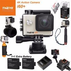 ThiEYE i60+ 4K 12Mpเมนูไทย+Sandisk32+BATT+Charger+TMC Red+Hand Mount+Frame Mount+Bobber