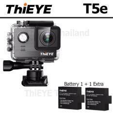 ThiEYE T5e UHD 4K 16Mp เมนูไทย Ambarella A12, Sony IMX117+BATT