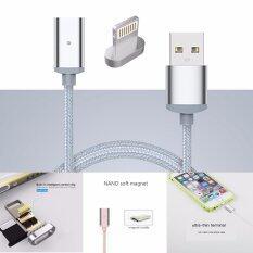 ที่ชาร์จมือถือแท็บเล็ตแถบแม่เหล็กถนอมช่องเสียบ Charger Magnetic Cable For Iphone ถูก