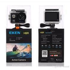 THK EKEN H9R 4K สีดำ พร้อมรีโมท