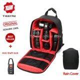 Tigernu Waterproof Camera Backpack Bag 6005 Black Red Tigernu ถูก ใน จีน