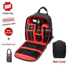 โปรโมชั่น Tigernu Waterproof Camera Backpack Bag 6005 Black Red ถูก