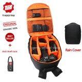 ซื้อ Tigernu Waterproof Camera Backpack Dslr Camera Bag Black Orange ออนไลน์ ถูก