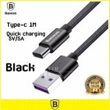 Tip Baseus สายชาร์จ Quick Charging Speed Cable 5A Max Usb Type C Android Huawei Xiaomi Samsung2017 แท้ กรุงเทพมหานคร