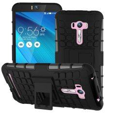 Tire Stripe Shockproof Hybrid Combo High Impact Rugged Case Cover with Kickstand .