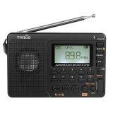 ซื้อ Tivdio V 115 เอฟเอ็ม Am Sw วิทยุ Multiband เครื่องรับวิทยุบันทึกเครื่องบันทึกเสียงเบส Mp3 ผู้เล่นลำโพงนอนจับเวลาสีดำ นานาชาติ ถูก ใน จีน