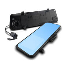 "TOKAI E-Look กล้องติดรถยนต์ 4.3"" Full HD 1080P กล้องหน้ากระจกมองหลัง-กล้องหลัง รุ่น MX007 - สีดำ"