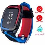 ราคา ราคาถูกที่สุด Topwrx Db05 สมาร์ทนาฬิกาอัตราการเต้นหัวใจติดตามกิจกรรมว่ายน้ำกันน้ำบลูทูธ 4 สำหรับ Android และ Ios Iphone นานาชาติ