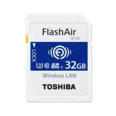 TOSHIBA FlashAir 32GB W-04 Wireless SD card