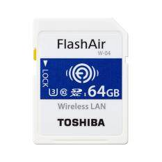 Toshiba Flashair 64Gb W 04 Wireless Sd Card Toshiba ถูก ใน สมุทรปราการ