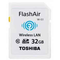 ราคา Toshiba Wireless Sd Memory Card Flash Air W 03 32Gb ใหม่