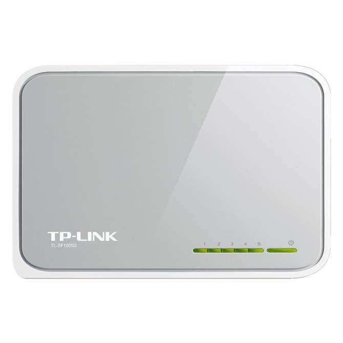 TP-LINK 5-Port 10/100Mbps Desktop Switch TL-SF1005D