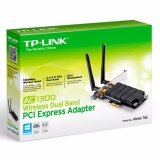 ราคา Tp Link Ac1300 Wireless Dual Band Pci Express Adapter Archer T6E ใน กรุงเทพมหานคร