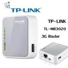 ขาย Tp Link Tl Mr3020 Portable 3G 4G Usb Modem Share Internet 150Mbps Wireless N Router Intl Grey กรุงเทพมหานคร